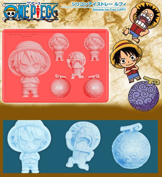 Silicone Ice Tray/Mold - Luffy - for Ice, Coffee, or Chocolate