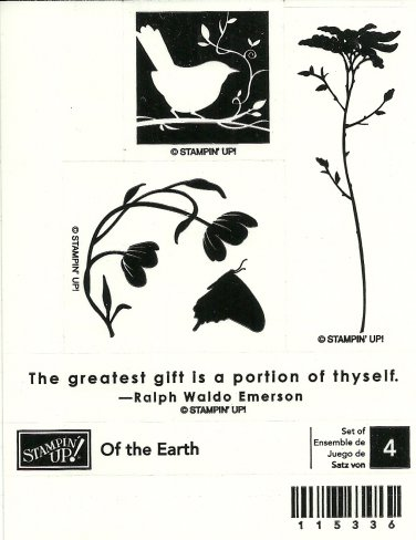 OF THE EARTH STAMPIN' UP! � RETIRED