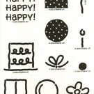 POLKA DOT PARTY - 2 Step STAMPIN' UP! – 2003 RETIRED