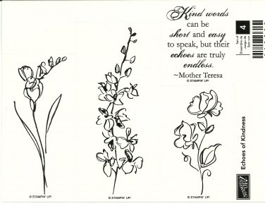 ECHOES OF KINDNESS � STAMPIN' UP! � RETIRED