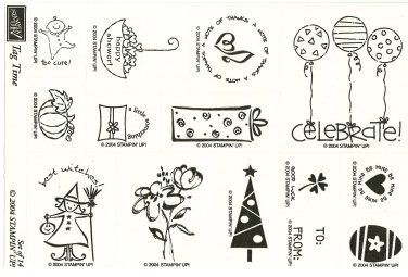 TAG TIME � STAMPIN' UP! � RETIRED