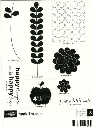 APPLE BLOSSOMS � STAMPIN' UP! � RETIRED SET
