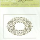 HOLIDAY FRAME - EMBOSSING FOLDER - SIZZIX BIG SHOT for STAMPIN' UP! - NEW