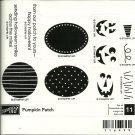 PUMPKIN PATCH - STAMPIN' UP! - Retired Halloween Set - NEW UNMOUNTED