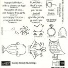 GOODY-GOODY GUMDROP - STAMPIN' UP! - Retired Set of 19 -NEW UNMOUNTED MPN 113730