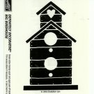 BIG BIRDHOUSE - STAMPIN' UP! - Retired 1998 NEW UNMOUNTED Definitely Decorative