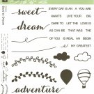 DARE TO DREAM - Stampin' Up! - NEW - PHOTOPOLYMER - 2 Step Stampin'