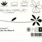 LIVE LIKE YOU MEAN IT - 2-Step Stampin' Up! - Retired Set - NEW UNMOUNTED - Life