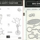 Stampin' Up! SO HOPPY TOGETHER + HOP AROUND FRAMELITS Dies - NEW