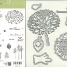Stampin' Up! THOUGHTFUL BRANCHES & BEAUTIFUL BRANCHES THINLITS Dies - NEW