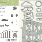 Stampin' Up! LET THE GOOD TIMES ROLL & THRILL RIDE POP-UP THINLITS Dies - NEW