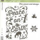 STAMPIN' UP! - NATURE'S PEACE - Retired Set - NEW - Clear Mount Christmas