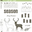 Stampin' Up! MERRY PATTERNS - 2 STEP STAMPIN - NEW - PHOTOPOLYMER - Hostess