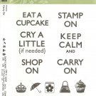 STAMPIN' UP! CARRY ON - Hostess Retired Set - NEW - CLEAR MOUNT