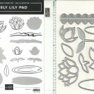Stampin' Up! LOVELY LILY PAD & LILY PAD STAMPIN' CUT & EMOSS DIES - NEW