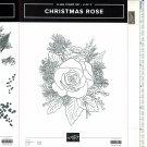 Stampin' Up! CHRISTMAS ROSE set of 2 & ROSES STAMPIN' CUT & EMBOSS Dies - NEW