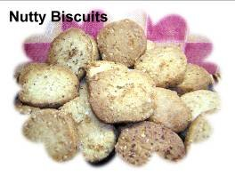 Health Nutty Biscuits - Homemade All Natural Dog Biscuit Treats