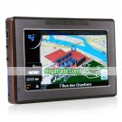 INACTIVE 4.3 inch Portable GPS Navigator with Touchscreen and Media Player