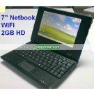 Netbook - 7-inch TFT LCD Laptop, UMPC - WiFi - 2GB Hard Disk - Windows CE 6.0