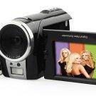 Digital Camcorder - 5MP Image Sensor - 4x Digital Zoom - 2.4-inch TFT LCD Display