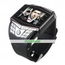 GD910 Quad Band Ultra Thin Flat Touch Screen Watch Phone (2GB TF Card)
