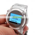 S760 Quad Band Dual Cards Bluetooth Camera Touch Screen Cool Watch China Phone - Silver & Black