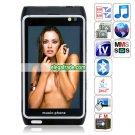 Mini H8 Quad Band Dual Cards Dual Standby Dual Cameras Color TV Bluetooth Java Phone