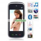 5230 Quad Band Dual Cards Dual Standby Camera Bluetooth Java  Phone - Black
