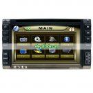 6.2 inch Double-din DVD Monitor - TV/Touch Screen/USB and SD Slot - FM/AM/Amplifier
