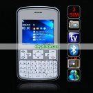 E81 Quad Band Three Cards Three Standby Camera Color TV Bluetooth Java 2.0-inch Screen QWERTY Phone