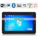 10.1 Inch Intel Atom N455 2G RAM 32G HDD Capacitive Touch Screen Tablet PC