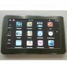 7 Inch Car GPS Navigation System MP3 MP4 FM Transmitter Bluetooth A/V In MAP with 2GB MicroSD