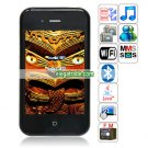 HiPhone phone 5 Quad Band Dual Cards Dual Standby Dual Cameras WIFI Bluetooth Java Phone