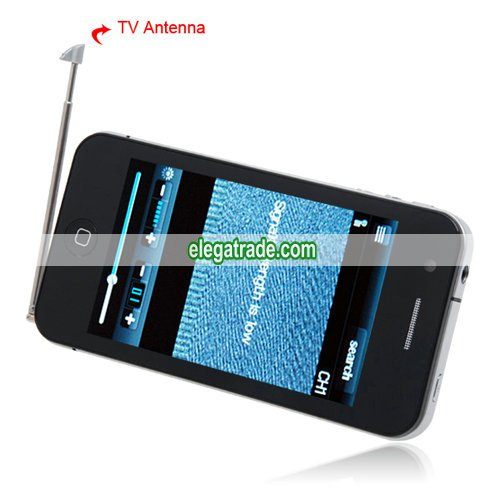 HiPhone H7 Quad Band Dual Cards Dual Standby Dual Cameras Color TV Bluetooth Java Phone