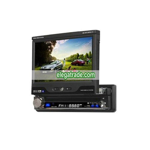 7� Indash Touch Screen Digital LCD 1 din Car DVD Player