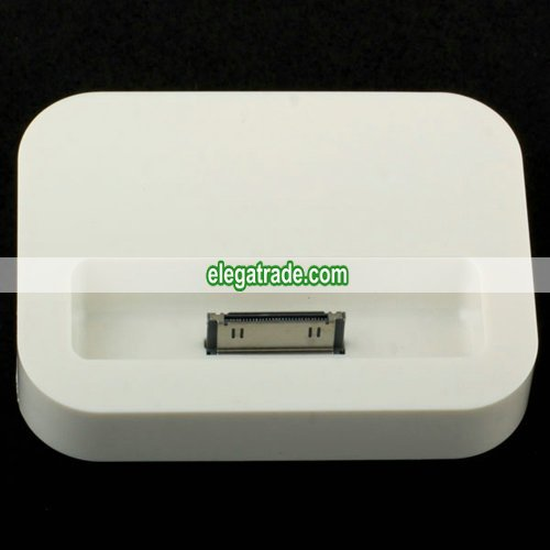 Charge and Sync Dock Stand for Apple iPhone 4 with Audio Line-Out Interface