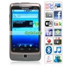 A5000 Quad Band Dual Cards Dual Standby Camera WIFI Color TV Bluetooth Android v2.2+ OS Smartphone