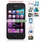 HiPhone i9 Quad Band Single Card Single Standby WIFI Bluetooth Java 3.5 -inch Phone