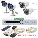 H.264 4 Channel Digital Video Recorder + Φ5-36 LEDs Camera + Φ5-48 LEDs Camera