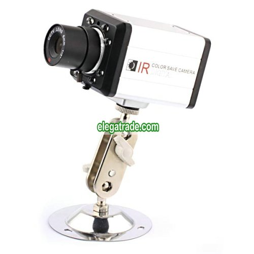 Digital IR Color CCTV Surveillance Camera - 6mm lens 1/3 inch CCD - Advanced DSP Processor