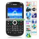 K66 Dual Cameras WIFI Analog TV Bluetooth Java 2.37-inch Screen QWERTY Phone