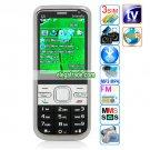 C5 Dual Cameras GPRS Bluetooth Wap Analog TV 2.2-inch Display Screen Phone