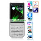 C3-01 Camera Java Bluetooth Wap Analog TV 2.4-inch Touch Screen Phone - Silver