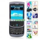 F9800 Cameras WIFI Color TV Bluetooth Java 2.9-inch Screen Slide Phone - Black