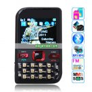 7610 Dual Band Dual Cards Dual Standby Single Camera Bluetooth 2.1-inch Display Screen Phone