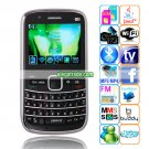 M9000  TV JAVA WIFI WAP Bluetooth 2.2-inch Display Screen QWERTY Phone