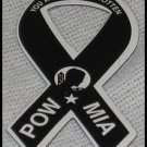 Support Our Troops POW MIA Military Small Magnetic Ribbon Auto Car Truck R12