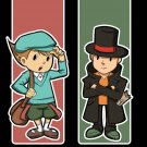 Professor Layton charms