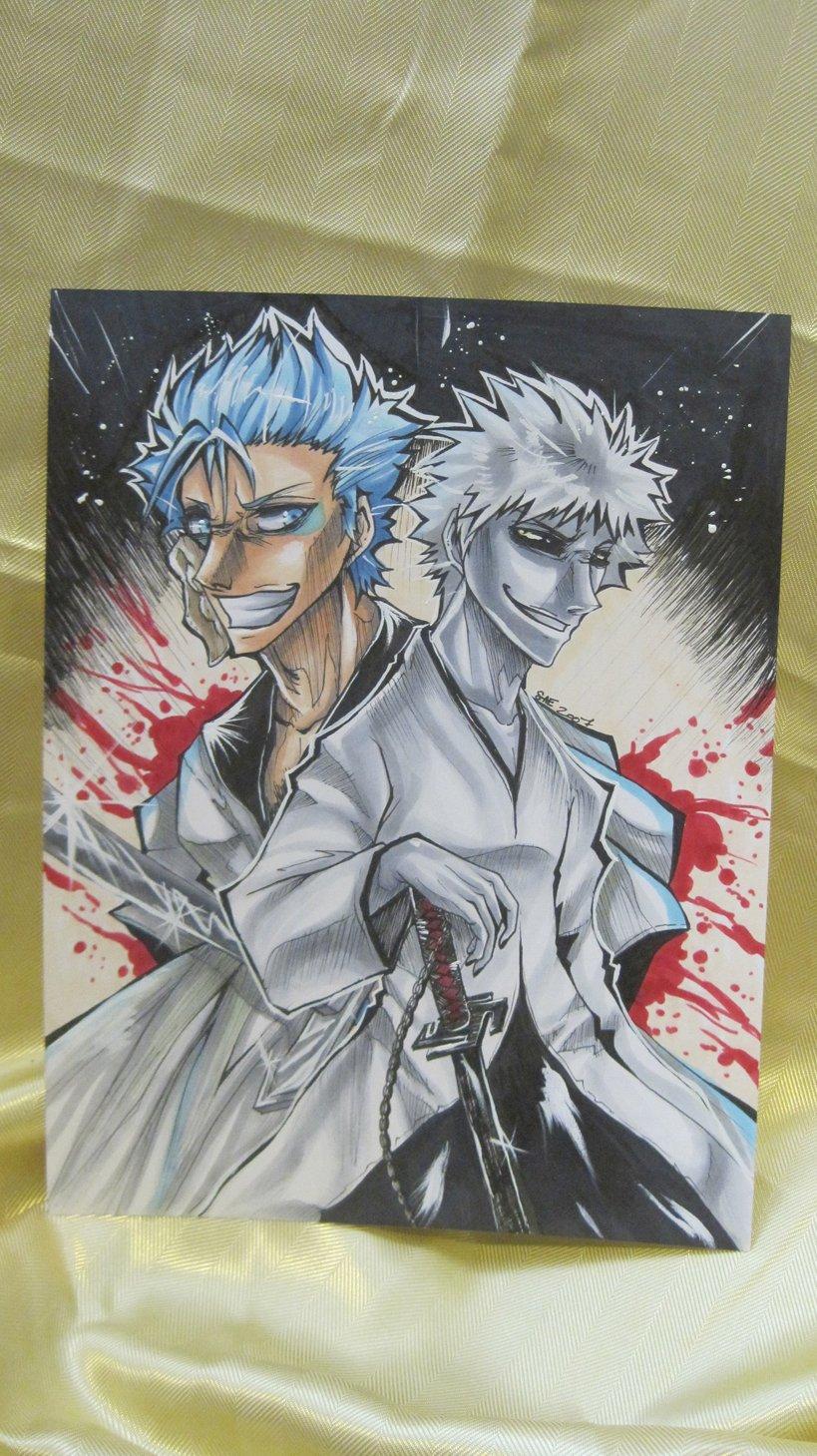 Grimmjow and Hollow Ichigo - original