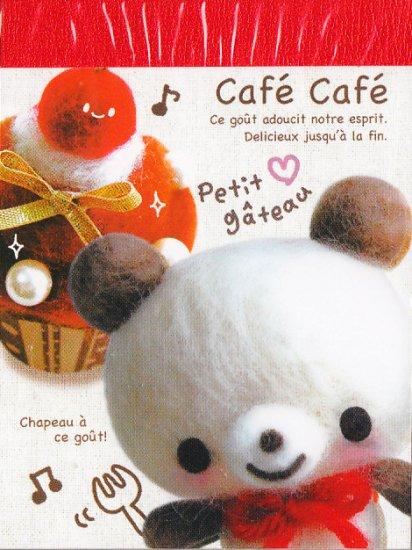 kamio Japan Café Café Chapeau a ce gout Mini Memo